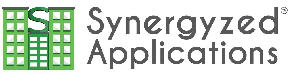 Synergyzed logo and name